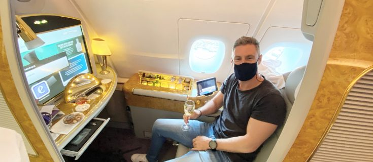 A380 emirates first class review