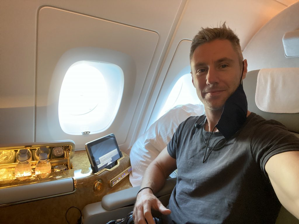 a380 emirates first class suite