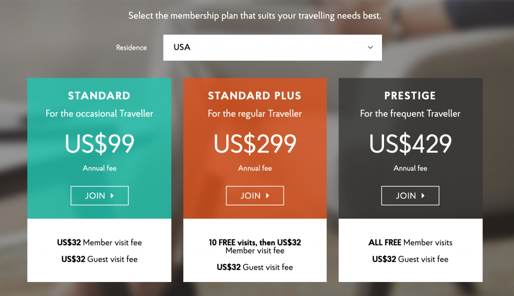Priority pass cost USA
